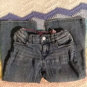 Levis Flare Jean w/ Stars on pockets 2T